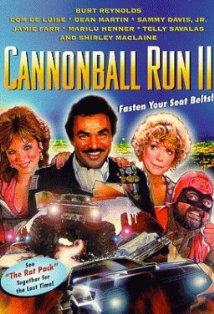 Cannonball Run II kapak