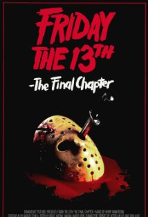 Friday the 13th: The Final Chapter kapak