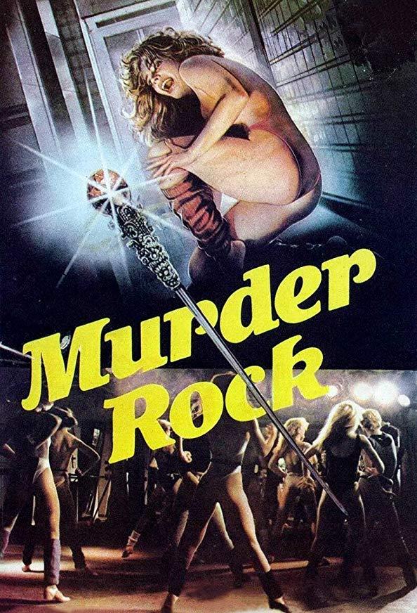 Murder-Rock: Dancing Death kapak