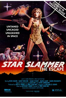 Star Slammer kapak