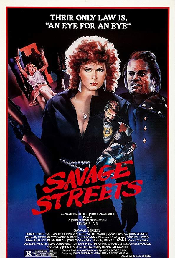 Savage Streets kapak