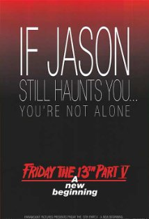 Friday the 13th: A New Beginning kapak