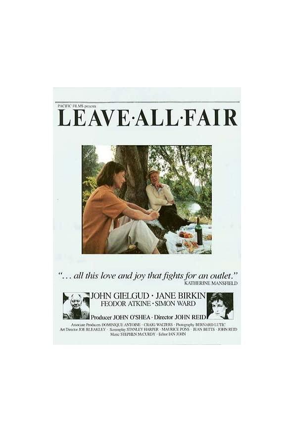 Leave All Fair kapak
