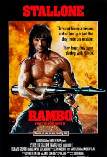 Rambo: First Blood Part II kapak