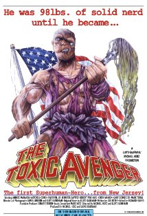 The Toxic Avenger kapak