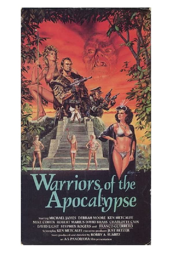 Warriors of the Apocalypse kapak