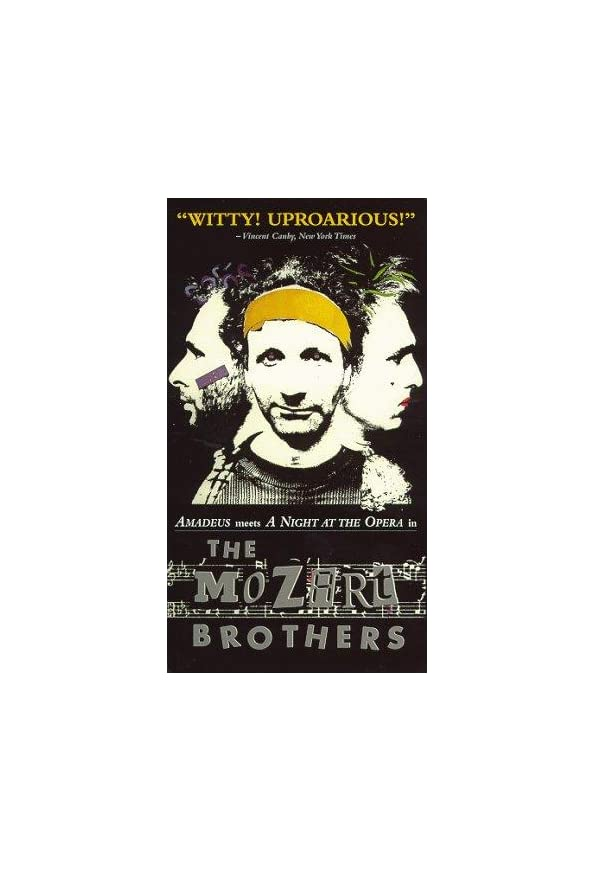 Bröderna Mozart kapak
