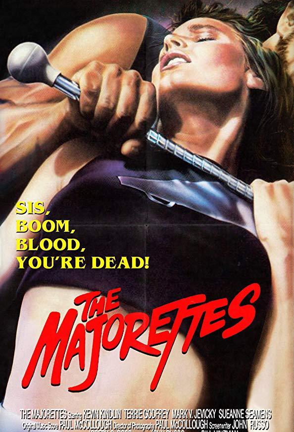 The Majorettes kapak