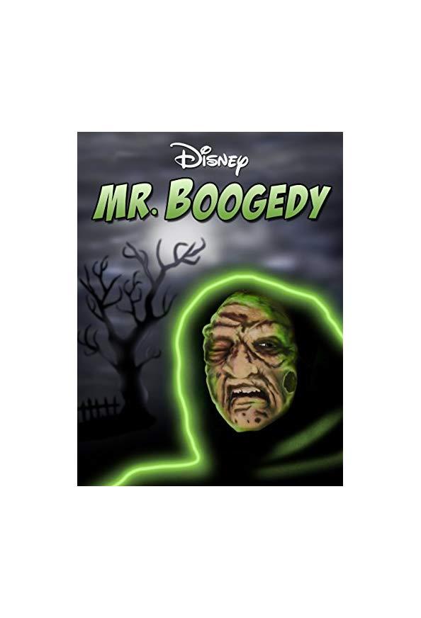 """Walt Disney's Wonderful World of Color"" Mr. Boogedy kapak"