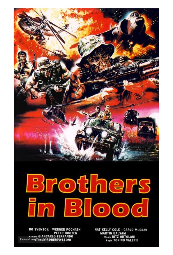 Brothers in Blood kapak