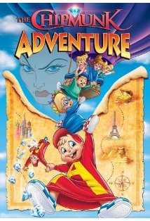 The Chipmunk Adventure kapak