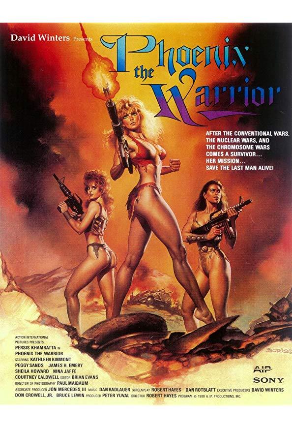 Phoenix the Warrior kapak