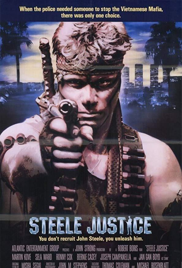 Steele Justice kapak