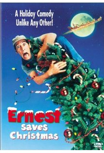 Ernest Saves Christmas kapak