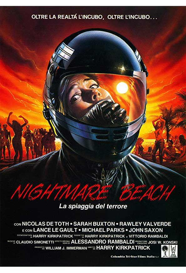Nightmare Beach kapak