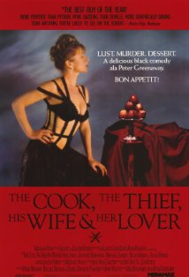 The Cook, the Thief, His Wife & Her Lover kapak