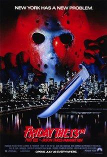 Friday the 13th Part VIII: Jason Takes Manhattan kapak