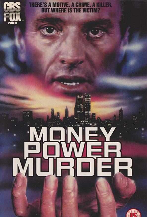 Money, Power, Murder. kapak