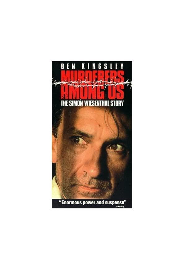 Murderers Among Us: The Simon Wiesenthal Story kapak