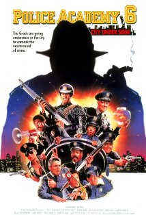 Police Academy 6: City Under Siege kapak