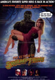 The Return of Swamp Thing kapak