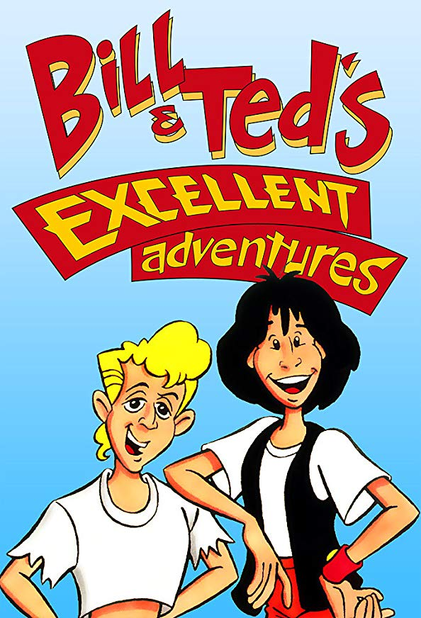 Bill & Ted's Excellent Adventures kapak