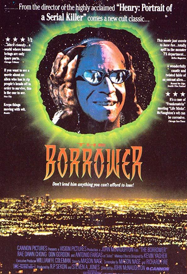 The Borrower kapak