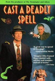 Cast a Deadly Spell kapak