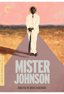 Mister Johnson kapak