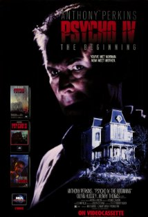 Psycho IV: The Beginning kapak