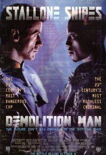 Demolition Man kapak
