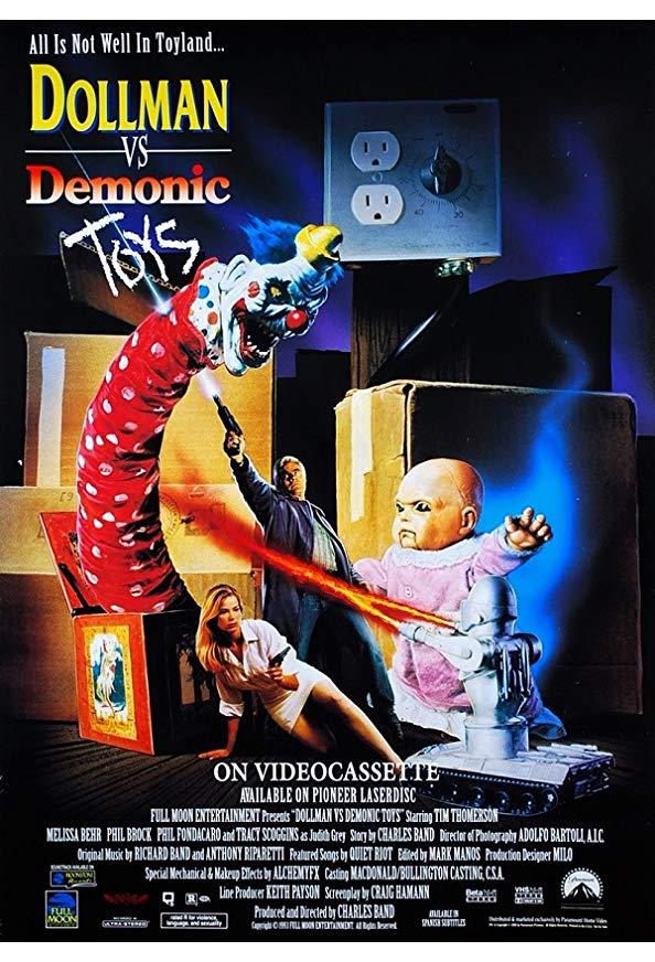 Dollman vs. Demonic Toys kapak
