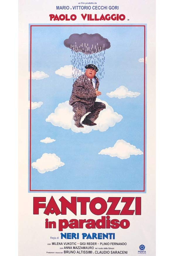 Fantozzi in Heaven kapak