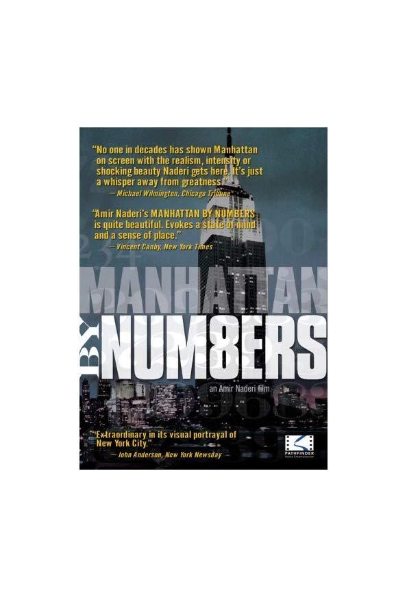 Manhattan by Numbers kapak