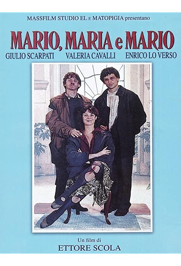 Mario, Maria e Mario kapak