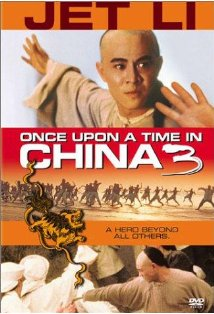 Once Upon a Time in China III kapak