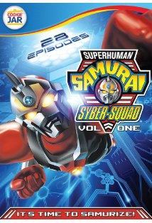 Superhuman Samurai Syber-Squad kapak