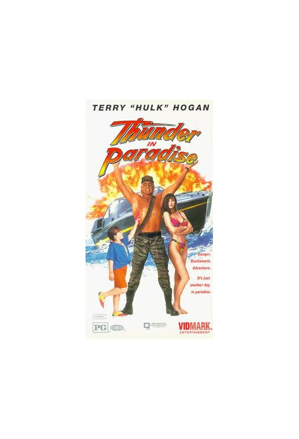 Thunder in Paradise kapak