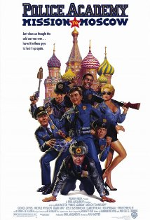 Police Academy: Mission to Moscow kapak