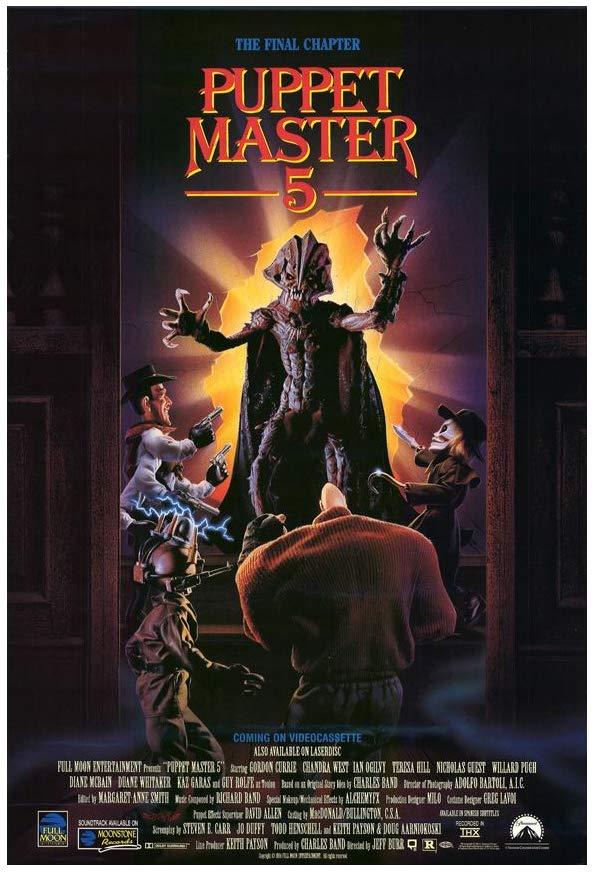 Puppet Master 5 kapak