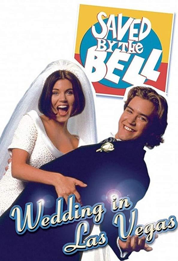 Saved by the Bell: Wedding in Las Vegas kapak