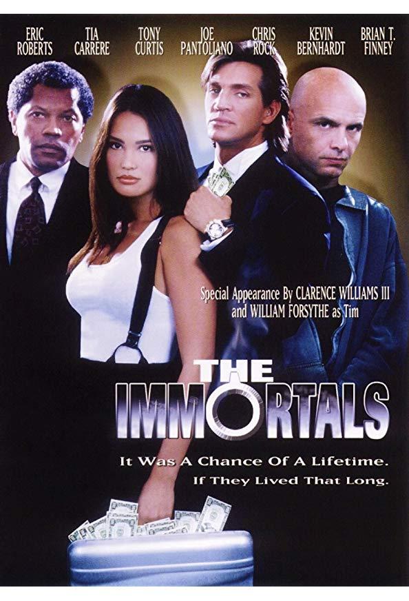 The Immortals kapak