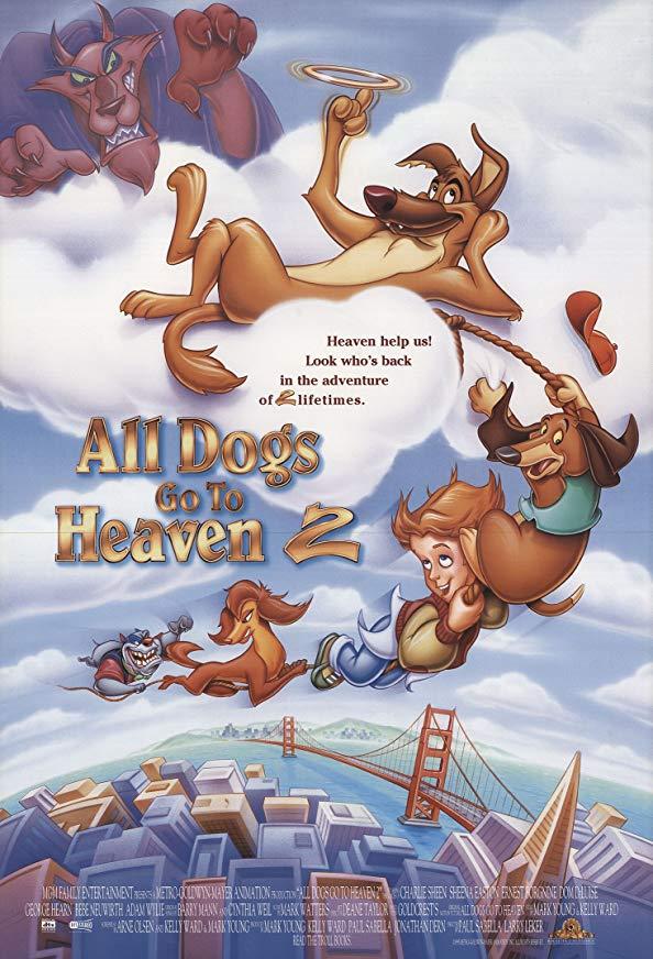 All Dogs Go to Heaven II kapak