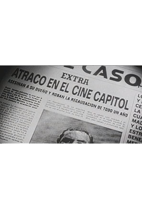 Robo en el cine Capitol kapak