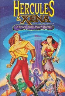 Hercules and Xena - The Animated Movie: The Battle for Mount Olympus kapak