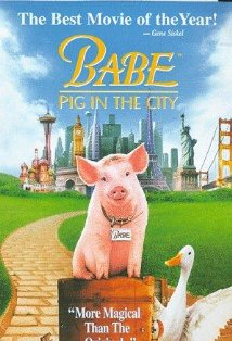 Babe: Pig in the City kapak