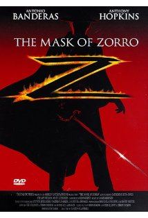 The Mask of Zorro kapak