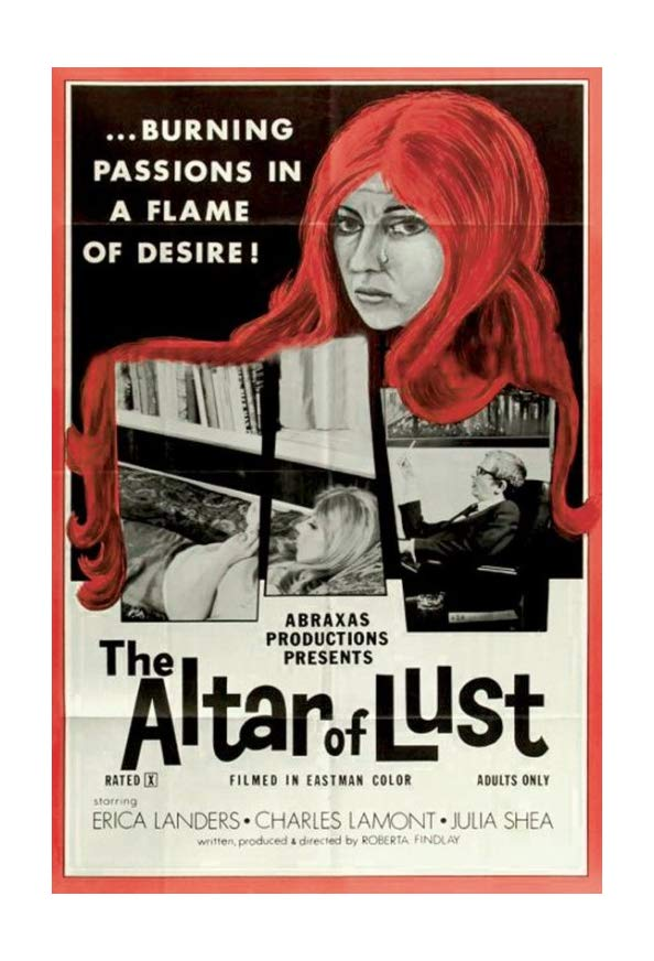 The Altar of Lust kapak