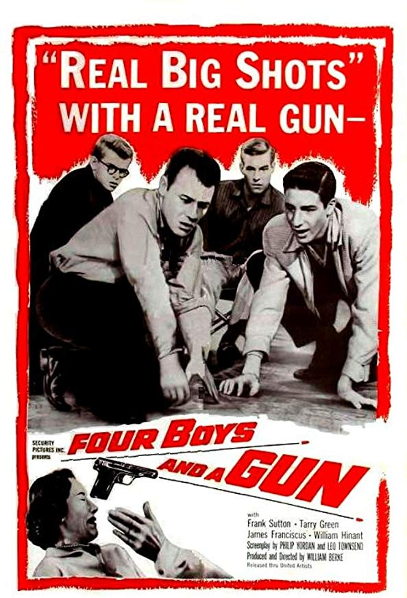 Four Boys and a Gun kapak