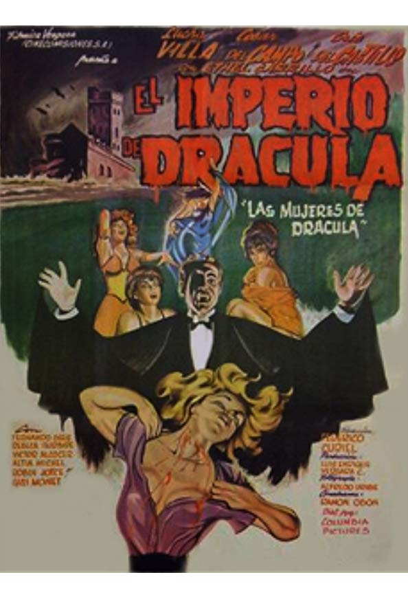 The Empire of Dracula kapak